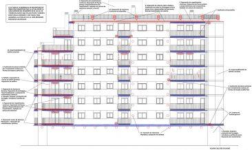 Rehabilitación de fachada en Massamagrell