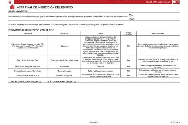 informes periciales valencia certificados energeticos IEE