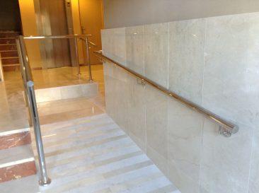 Eliminacion de barreras arquitectonicas en Alicante rampa accesible