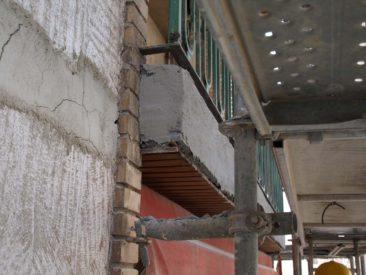 Rehabilitacion de fachada en Alicante reparacion de canto de forjado
