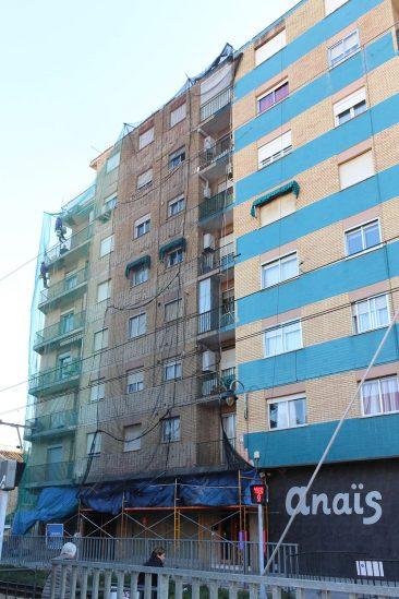 Rehabilitacion de fachada en Massamagrell