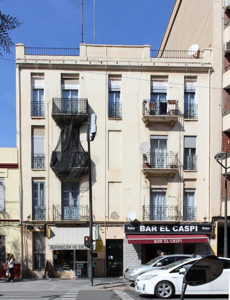 Rehabilitacion de fachada en Valencia